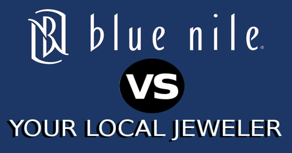 Blue Nile vs local jewelers